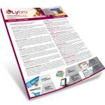 brochure del software lybro di bazzacco