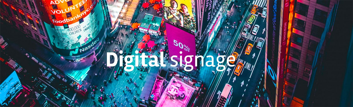 digital signage software di bazzacco